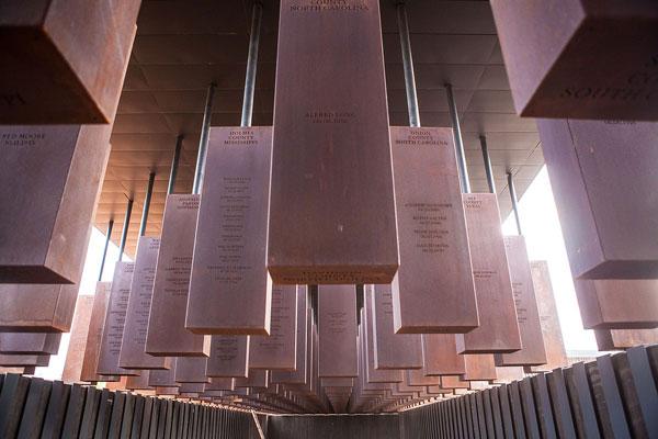 Memorial Corridor at the National Memorial for Peace & Justice